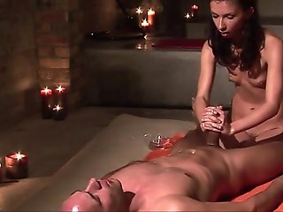 european, cumshot, fingering, handjob, massage, milf